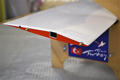 Mach2 wing detail